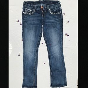 Vigoss New York slim boot dark wash jeans